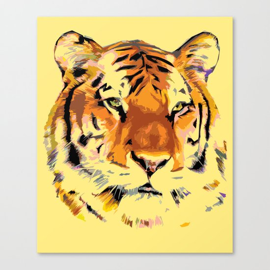 My Tiger Canvas Print