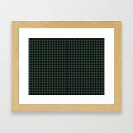 Clan Ranald Tartan Framed Art Print