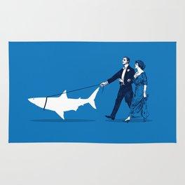 Walking the Shark Rug