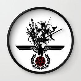 The Satanic Eagle Wall Clock
