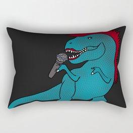 She-Rex Singer Rectangular Pillow