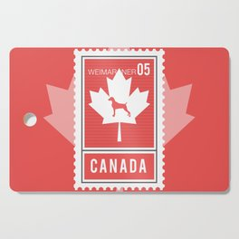 CANADA WEIM STAMP Cutting Board