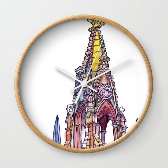 Love NYC's everything No. 7 Wall Clock