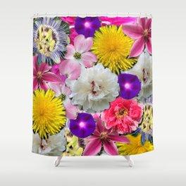 flowers amok! Shower Curtain