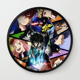 Academy of Heroes Wall Clock