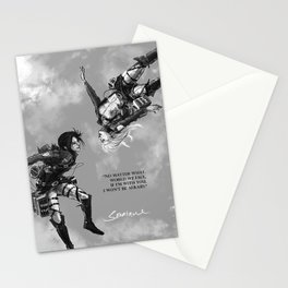 YC Falling Stationery Cards