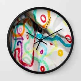 Tangled 4 Wall Clock