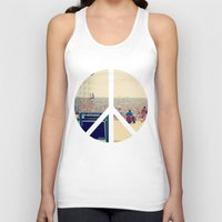 woodstock Tank Tops featuring Woodstock 69 by Silvio Ledbetter