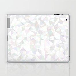 White triangle mosaic Laptop & iPad Skin
