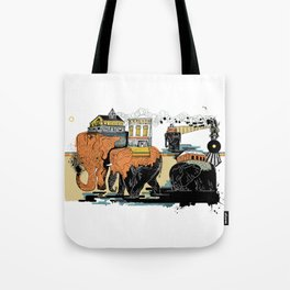Oiliphants Tote Bag
