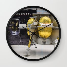 1788. Commercial Lunar Payload Services Announcement (NHQ201905310021) Wall Clock