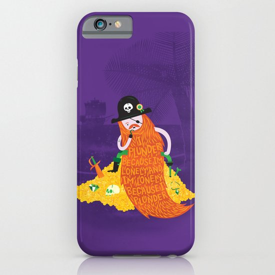 Piratical cycle iPhone & iPod Case