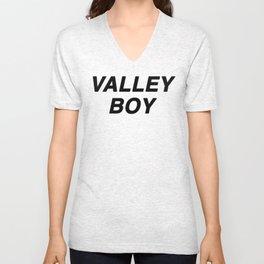 Valley Boy Unisex V-Neck