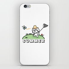 It is summer iPhone Skin