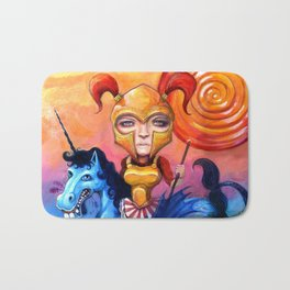 The Candy Warrior Bath Mat