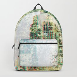 Cityscape and forest Backpack