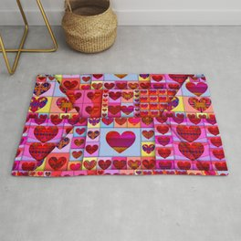my heart is sealed Rug
