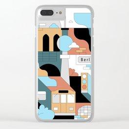 Berlin / Ubahn Clear iPhone Case