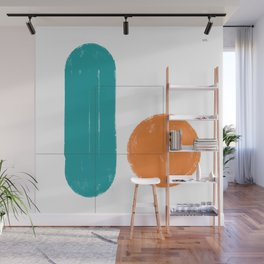 simple forms Wall Mural