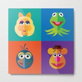 Muppet Minimalism Metal Print