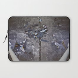 Skates Cementery Laptop Sleeve