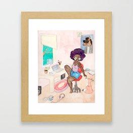 The House of Pastels Framed Art Print