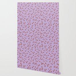 Peppermint Candy in Purple Wallpaper