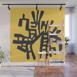 Hoppas Yellow Wall Mural