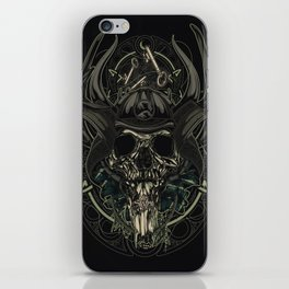 Man From Nowhere iPhone Skin
