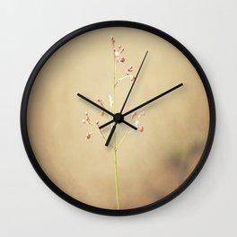 little red balls Wall Clock