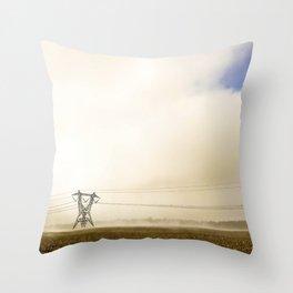 Drawn Throw Pillow