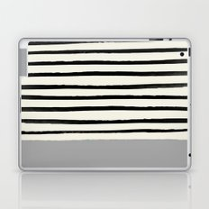Storm Grey x Stripes Laptop & iPad Skin