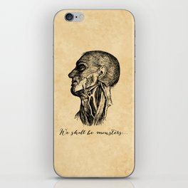 Frankenstein - Mary Shelley - We Shall Be Monsters iPhone Skin
