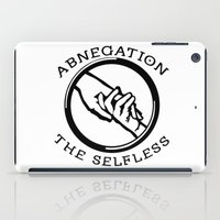 divergent iPad Cases featuring Divergent - Abnegation The Selfless by Lunil