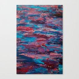 Low Fi Contrast Canvas Print
