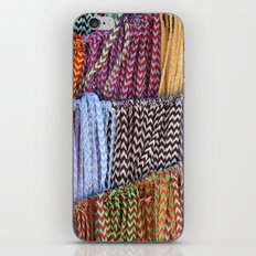 Color threads iPhone & iPod Skin