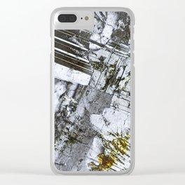 Dolerite 03 Clear iPhone Case