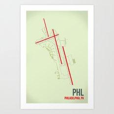 PHL Art Print