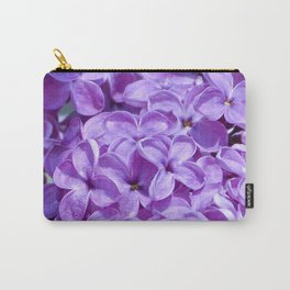 Purple Lilacs by Teresa Thompson Carry-All Pouch