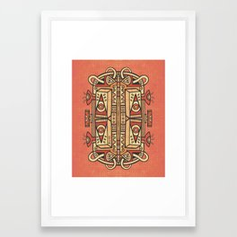 Tribalien Framed Art Print
