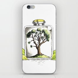 Nature on Display iPhone Skin