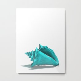 Aura the Seashell Metal Print