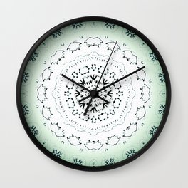 Mint Chocolate Chip Wall Clock