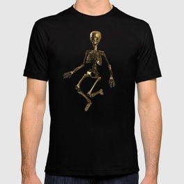 Dancing Gold Skeletons T-shirt