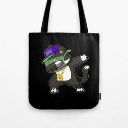Dabbing Cat Frajola Tote Bag