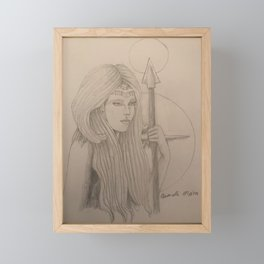 Belisama Framed Mini Art Print