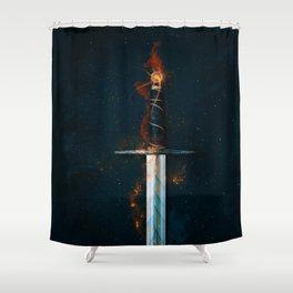 Magic Sword No 1 Shower Curtain