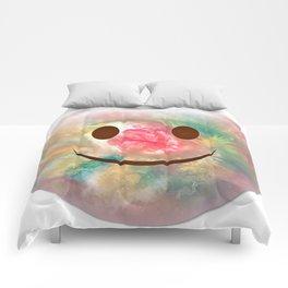 Nipple Emoji 666 Comforters