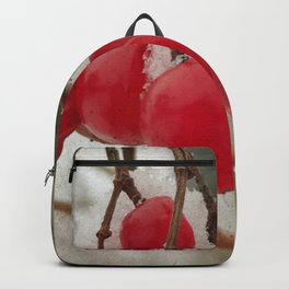 colors of winter Backpack