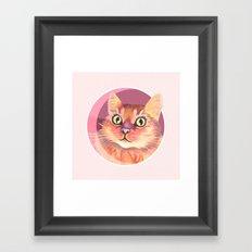 Miss Meowgi Framed Art Print